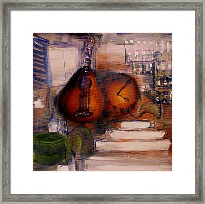 The Mandolin Framed Print
