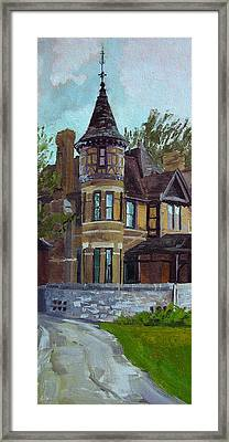 The Manor Framed Print by Anthony Sell
