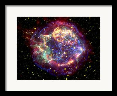 Infrared Lights And Lighting Framed Prints