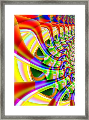 The Marching Band . Vertical . S14 Framed Print by Wingsdomain Art and Photography