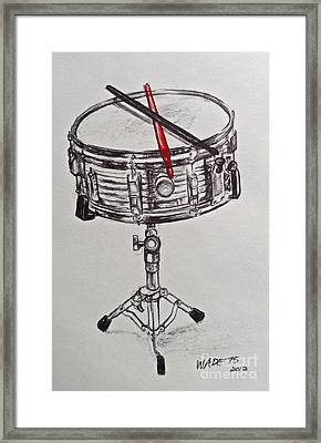 The Marching Band Framed Print by Wade Hampton