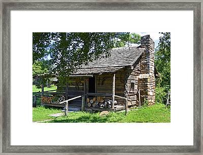 The Mark Twain Family Cabin Framed Print