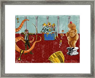 The Marksman Framed Print by Baird Hoffmire