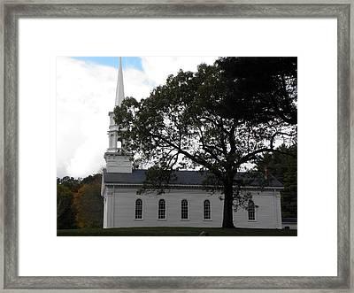 The Martha Mary Chapel Framed Print by Kim Galluzzo Wozniak