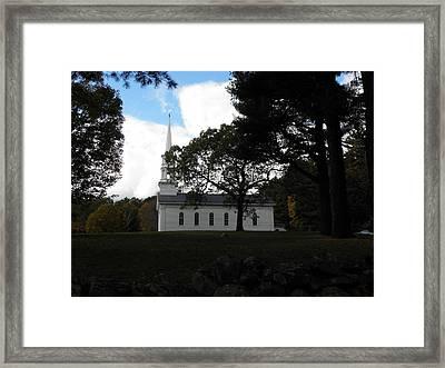 The Martha Mary Chapel Standing Tall Framed Print by Kim Galluzzo Wozniak