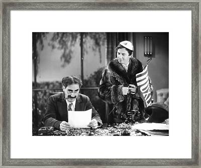 The Marx Brothers, 1932 Framed Print