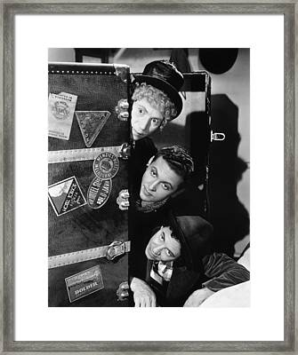 The Marx Brothers, 1935 Framed Print