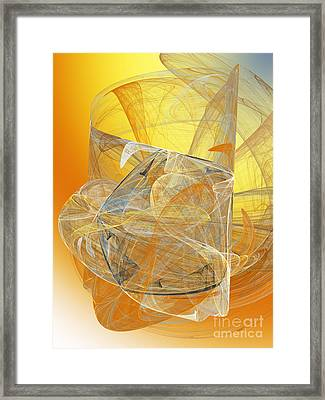 The Mask 1 Framed Print by Andee Design