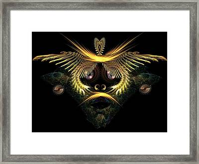 The Mask Framed Print by Ricky Kendall