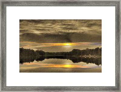 The Master's Palette Framed Print by Barry Jones