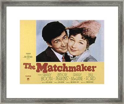 The Matchmaker, Anthony Perkins Framed Print by Everett