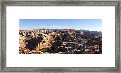 The Maze  Overlook Framed Print by Scotts Scapes