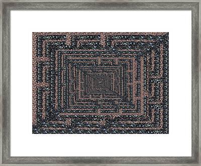 The Maze Framed Print by Tim Allen