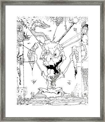 The Me Of Me Framed Print by Jack Norton