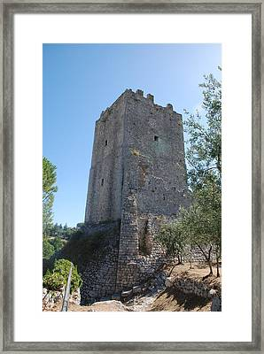 Framed Print featuring the photograph The Medieval Tower by Dany Lison