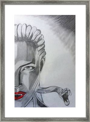 The Medusa Framed Print by Paul Barille