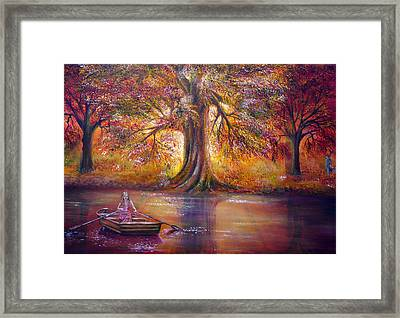 The Meeting Place Framed Print by Ann Marie Bone