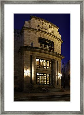 The Meeting Place Framed Print by Lynn Palmer