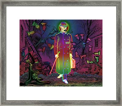 The Mental Traveller Framed Print