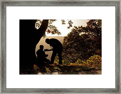 The Mentor Framed Print