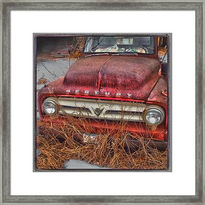 The Merc Framed Print by The Artist Project