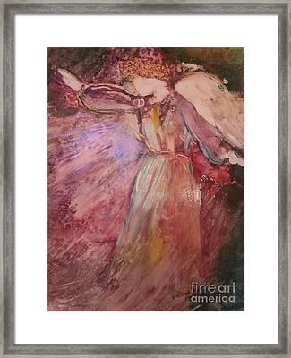 The Messenger Framed Print by Deborah Nell