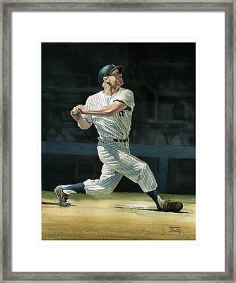 The Mick Framed Print by Rich Marks