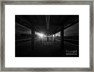 The Middle Framed Print by Yhun Suarez