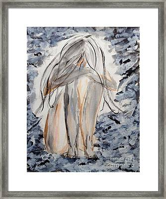 The Migraine Framed Print by Alethea McKee
