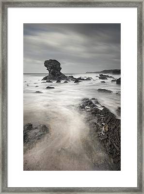 The Milky Sea Framed Print