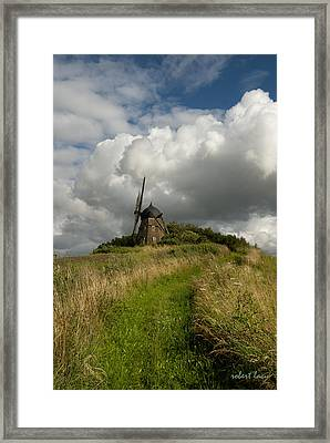 The Mill At Aarup Framed Print