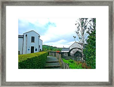 Framed Print featuring the photograph The Mill by Charlie and Norma Brock