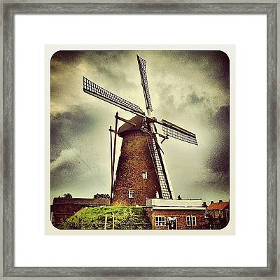 The Mill In Merselo, #venray Framed Print