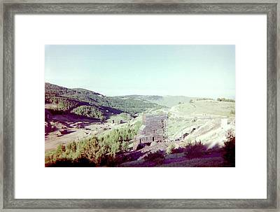 Framed Print featuring the photograph The Mine by Bonfire Photography