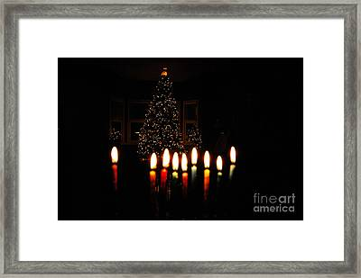 Framed Print featuring the photograph The Miracle Of Christmas by Linda Mesibov