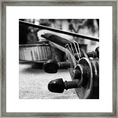 The Miraculous Combination Of Strings Framed Print