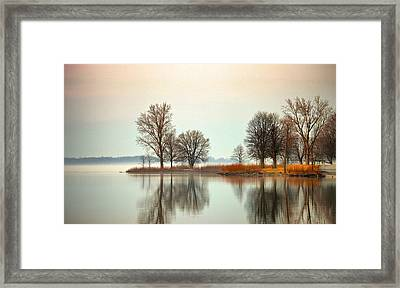 The Mirror Framed Print