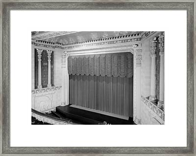 The Missouri Theater Building, View Framed Print