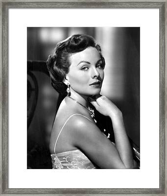 The Model And The Marriage Broker Framed Print by Everett