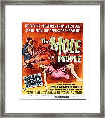 The Mole People, Upper Left Framed Print