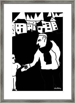 The Molester Framed Print