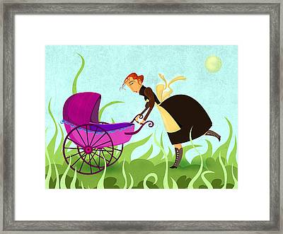 The Mom Framed Print