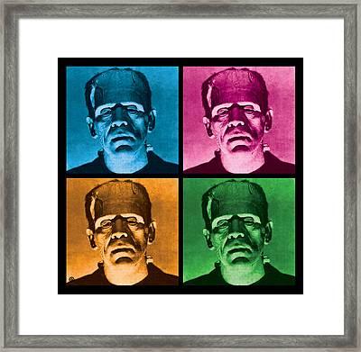 The Monster X 4 Framed Print by Gary Grayson