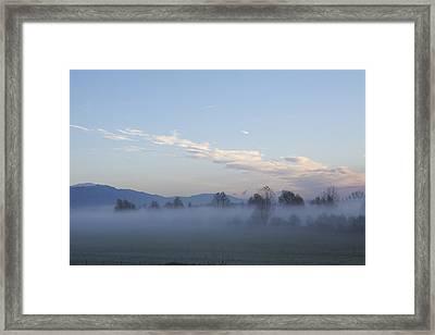 The Morning Fog Framed Print
