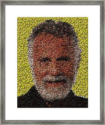 The Most Interesting Mosaic In The World Framed Print by Paul Van Scott