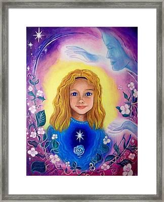 The Mother Blessing Framed Print