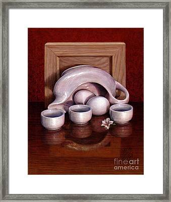 Framed Print featuring the painting The Mother by Jane Bucci