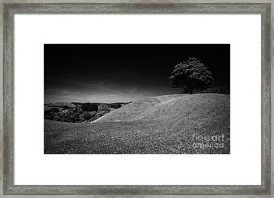 The Mound Of Down Downpatrick County Down Northern Ireland Framed Print by Joe Fox