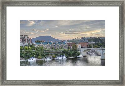 The Mountain Framed Print by David Troxel
