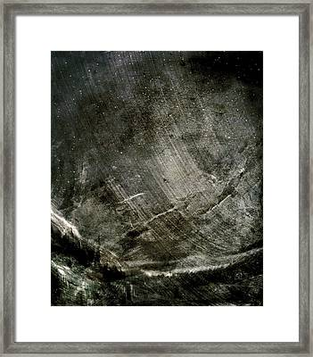 Framed Print featuring the digital art The Mountain Pass by Jean Moore
